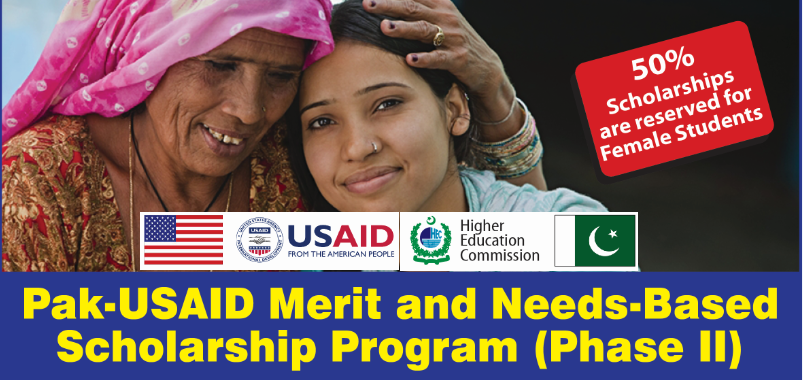 Pak-USAID Merit and Needs Based Scholarship Program Phase II
