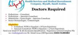 Doctors Jobs in Health Services & Medical Recruitment Company Riyadh