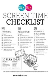 Screen Time Rules for Teens